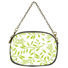 Leaves Pattern Seamless Chain Purses (Two Sides)