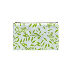 Leaves Pattern Seamless Cosmetic Bag (small)