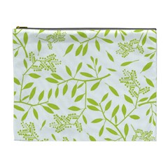 Leaves Pattern Seamless Cosmetic Bag (xl)