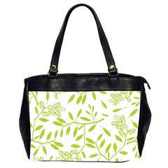 Leaves Pattern Seamless Office Handbags (2 Sides)