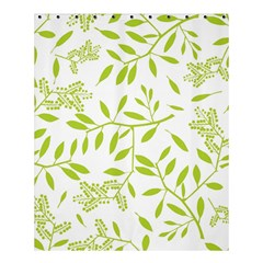 Leaves Pattern Seamless Shower Curtain 60  X 72  (medium)