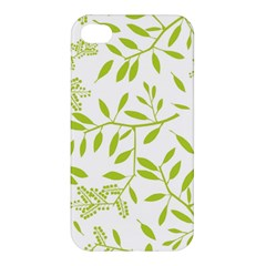 Leaves Pattern Seamless Apple iPhone 4/4S Hardshell Case