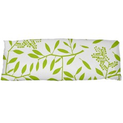 Leaves Pattern Seamless Body Pillow Case (Dakimakura)