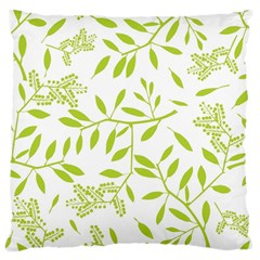 Leaves Pattern Seamless Large Cushion Case (Two Sides)