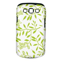 Leaves Pattern Seamless Samsung Galaxy S Iii Classic Hardshell Case (pc+silicone)