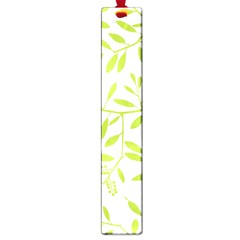 Leaves Pattern Seamless Large Book Marks