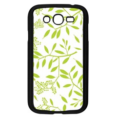 Leaves Pattern Seamless Samsung Galaxy Grand DUOS I9082 Case (Black)