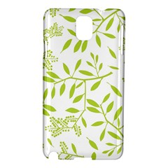 Leaves Pattern Seamless Samsung Galaxy Note 3 N9005 Hardshell Case