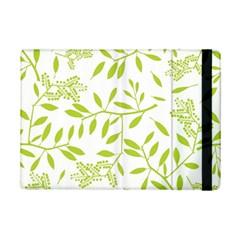 Leaves Pattern Seamless iPad Mini 2 Flip Cases