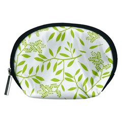 Leaves Pattern Seamless Accessory Pouches (Medium)