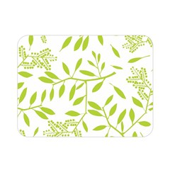 Leaves Pattern Seamless Double Sided Flano Blanket (mini)