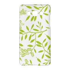 Leaves Pattern Seamless Samsung Galaxy A5 Hardshell Case