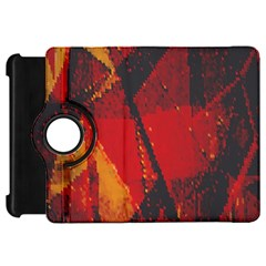 Surface Line Pattern Red Kindle Fire HD 7