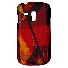 Surface Line Pattern Red Galaxy S3 Mini