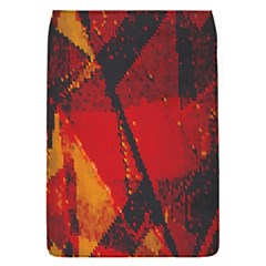 Surface Line Pattern Red Flap Covers (S)
