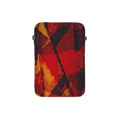 Surface Line Pattern Red Apple Ipad Mini Protective Soft Cases