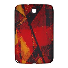 Surface Line Pattern Red Samsung Galaxy Note 8.0 N5100 Hardshell Case