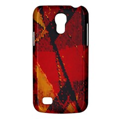 Surface Line Pattern Red Galaxy S4 Mini