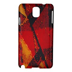 Surface Line Pattern Red Samsung Galaxy Note 3 N9005 Hardshell Case
