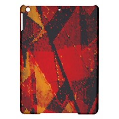Surface Line Pattern Red Ipad Air Hardshell Cases