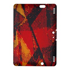 Surface Line Pattern Red Kindle Fire HDX 8.9  Hardshell Case