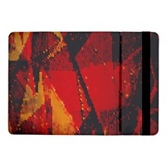 Surface Line Pattern Red Samsung Galaxy Tab Pro 10.1  Flip Case