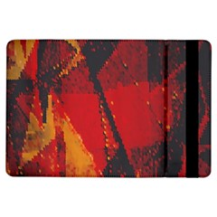 Surface Line Pattern Red iPad Air Flip