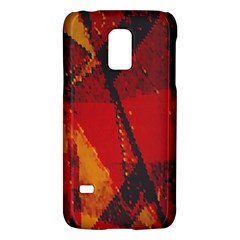 Surface Line Pattern Red Galaxy S5 Mini