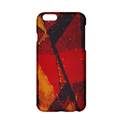 Surface Line Pattern Red Apple iPhone 6/6S Hardshell Case