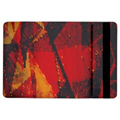 Surface Line Pattern Red Ipad Air 2 Flip