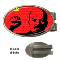 Lenin  Money Clips (Oval)
