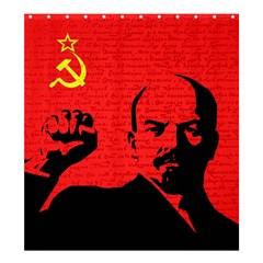Lenin  Shower Curtain 66  x 72  (Large)