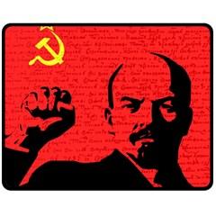 Lenin  Fleece Blanket (Medium)