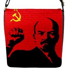 Lenin  Flap Messenger Bag (S)