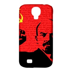 Lenin  Samsung Galaxy S4 Classic Hardshell Case (PC+Silicone)