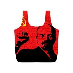 Lenin  Full Print Recycle Bags (S)