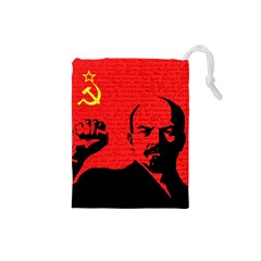 Lenin  Drawstring Pouches (Small)