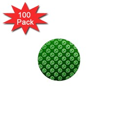 Whatsapp Logo Pattern 1  Mini Magnets (100 pack)