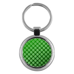Whatsapp Logo Pattern Key Chains (Round)