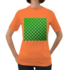Whatsapp Logo Pattern Women s Dark T-Shirt