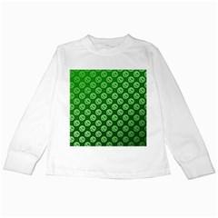 Whatsapp Logo Pattern Kids Long Sleeve T-Shirts