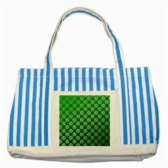 Whatsapp Logo Pattern Striped Blue Tote Bag