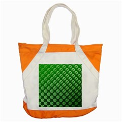 Whatsapp Logo Pattern Accent Tote Bag