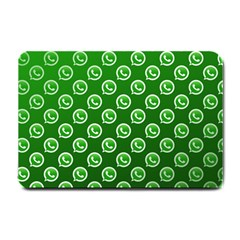 Whatsapp Logo Pattern Small Doormat