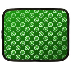 Whatsapp Logo Pattern Netbook Case (XL)