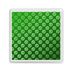 Whatsapp Logo Pattern Memory Card Reader (square)