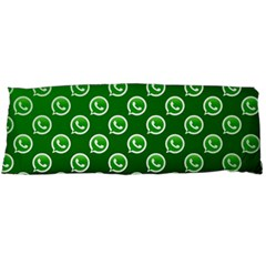 Whatsapp Logo Pattern Body Pillow Case (Dakimakura)
