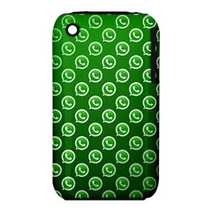 Whatsapp Logo Pattern iPhone 3S/3GS