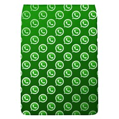Whatsapp Logo Pattern Flap Covers (S)