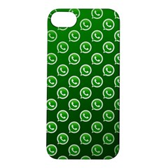 Whatsapp Logo Pattern Apple iPhone 5S/ SE Hardshell Case